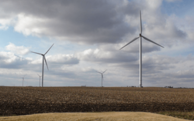 Leadernet LLC and the Gray County Wind Farm project in Kansas, USA